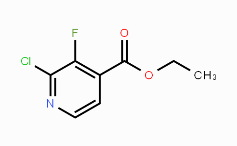 MC448509 | 1214351-53-7 | Ethyl 2-chloro-3-fluoro-4-pyridinecarboxylate