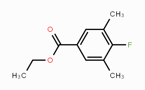 1256481-38-5 | Ethyl 3,5-dimethyl-4-fluorobenzoate