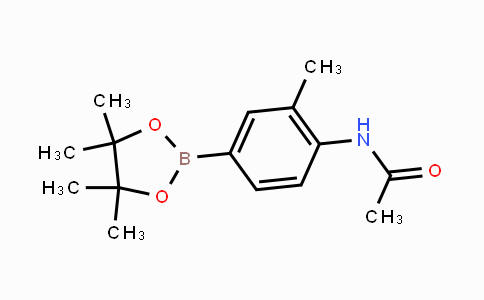 MC448561 | 269410-12-0 | Acetamide, N-[2-methyl-4-(4,4,5,5-tetramethyl-1,3,2-dioxaborolan-2-yl)phenyl]-
