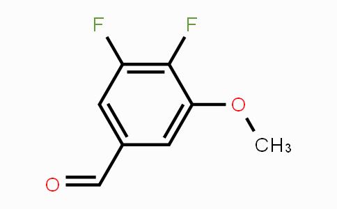 MC448572 | 881190-46-1 | 3,4-Difluoro-5-methoxybenzaldehyde
