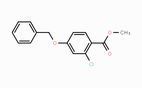154605-91-1 | Methyl 4-benzyloxy-2-chlorobenzoate