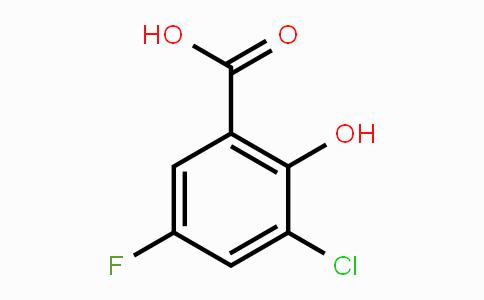 MC448624 | 4068-62-6 | 3-Chloro-5-fluoro-2-hydroxybenzoic acid