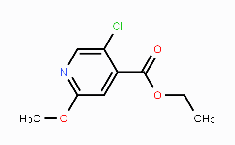 MC448642 | 1214345-87-5 | Ethyl 5-chloro-2-methoxypyridine-4-carboxylate