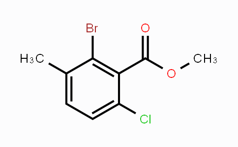 MC448655 | 2092387-79-4 | Methyl 2-bromo-6-chloro-3-methylbenzoate