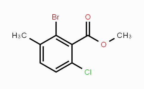 2092387-79-4 | Methyl 2-bromo-6-chloro-3-methylbenzoate