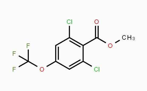 MC448675 | 2221812-05-9 | Methyl 2,6-dichloro-4-(trifluoromethoxy)benzoate