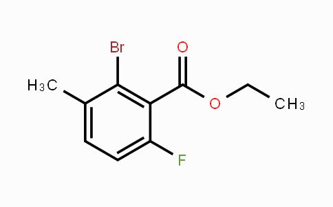 1807043-56-6 | Ethyl 2-bromo-6-fluoro-3-methylbenzoate