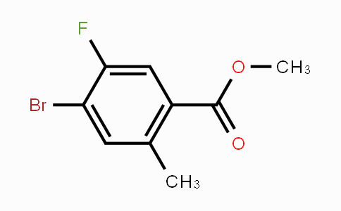 1352889-89-4 | Methyl 4-bromo-5-fluoro-2-methylbenzoate