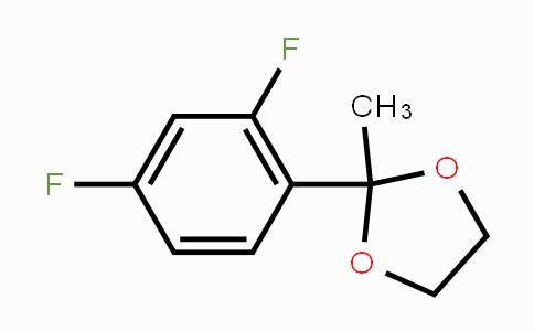MC448773 | 882406-40-8 | 2-(2,4-Difluorophenyl)-2-methyl-1,3-dioxolane
