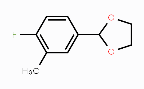 MC448803 | 773093-11-1 | 2-(4-Fluoro-3-methylphenyl)-1,3-dioxolane