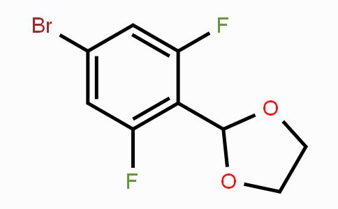 773087-43-7   2-(4-Bromo-2,6-difluorophenyl)-1,3-dioxolane