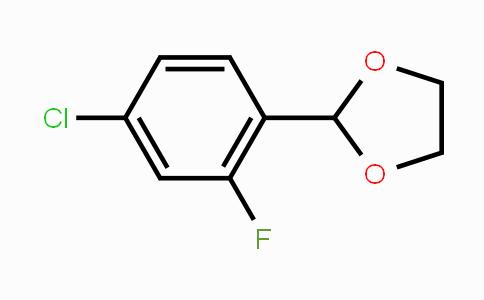 773102-67-3 | 2-(4-Chloro-2-fluorophenyl)-1,3-dioxolane