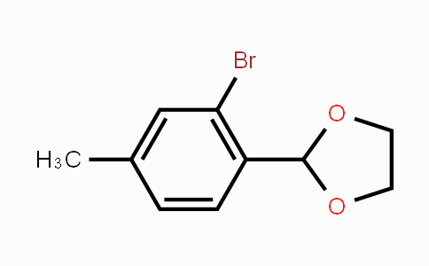 MC448823 | 773095-61-7 | 2-(2-Bromo-4-methylphenyl)-1,3-dioxolane