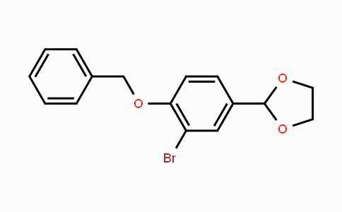 MC448828 | 868598-97-4 | 2-(4-(Benzyloxy)-3-bromophenyl)-1,3-dioxolane