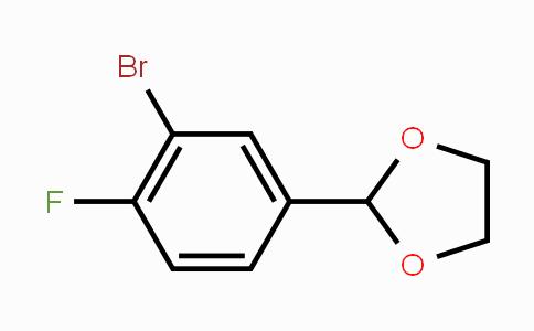 MC448837 | 77771-04-1 | 2-(3-Bromo-4-fluorophenyl)-1,3-dioxolane