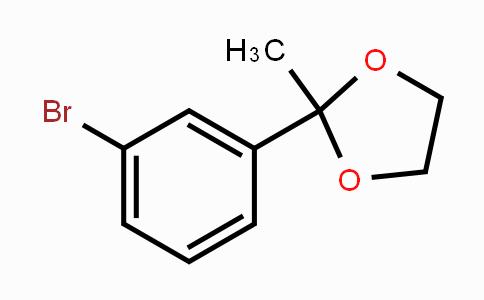 39172-32-2 | 2-(3-Bromophenyl)-2-methyl-1,3-dioxolane