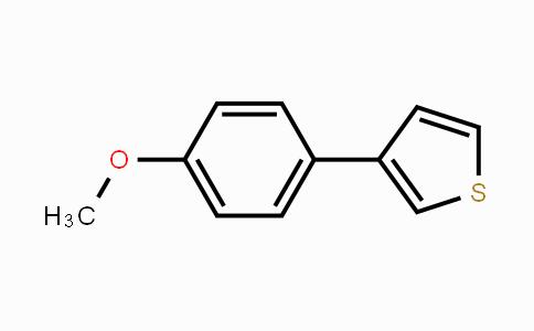 82437-75-0 | 3-(4-Methoxyphenyl)thiophene