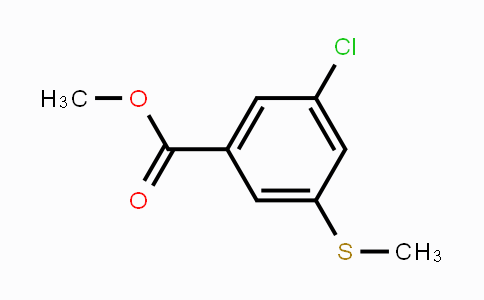 MC448863 | 1824578-68-8 | Methyl 3-chloro-5-(methylsulfanyl)benzoate