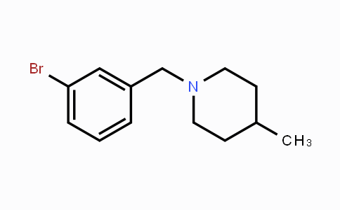 MC448890 | 891419-08-2 | 1-(3-Bromobenzyl)-4-methylpiperidine