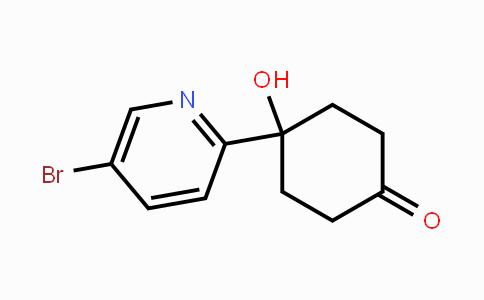MC448970 | 857650-99-8 | 1-(5-Bromopyridin-2-yl)-4-oxocyclohexan-1-ol