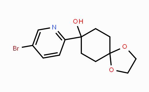 708274-37-7 | 8-(5-Bromopyridin-2-yl)-1,4-dioxaspiro[4.5]decan-8-ol