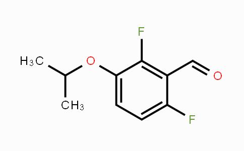 798564-92-8 | 2,6-Difluoro-3-(1-methylethoxy)-benzaldehyde