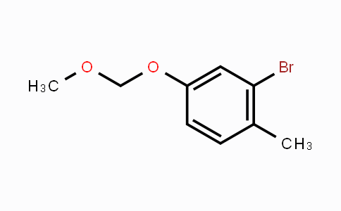 341006-17-5 | 2-Bromo-4-(methoxymethoxy)-1-methyl-benzene