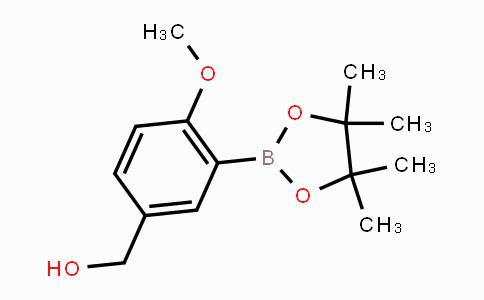 443776-91-8 | (4-Methoxy-3-(4,4,5,5-tetramethyl-1,3,2-dioxaborolan-2-yl)phenyl)methanol
