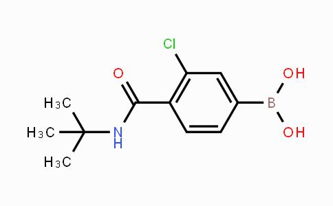 850589-46-7   3-Chloro-4-(N-tert-butylcarbamoyl)phenylboronic acid