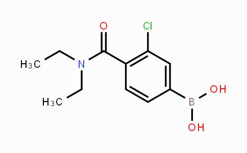 850589-48-9 | 3-Chloro-4-(N,N-diethylcarbamoyl)phenylboronic acid