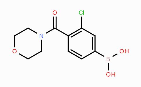 MC449216 | 850589-49-0 | 3-Chloro-4-(morpholine-4-carbonyl)phenylboronic acid