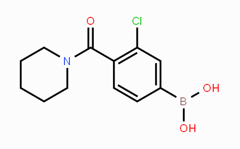 MC449217 | 850589-50-3 | 3-Chloro-4-(piperidine-1-carbonyl)phenylboronic acid