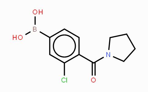 850589-51-4 | 3-Chloro-4-(pyrrolidinyl-1-carbonyl)phenylboronic acid