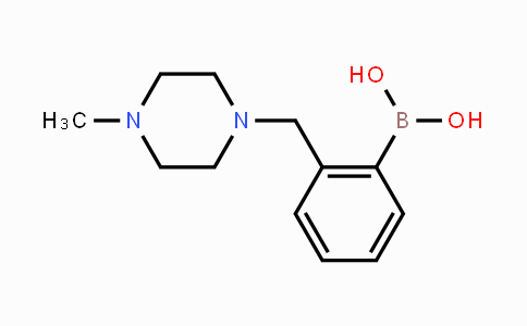 DY449339 | 1312921-22-4 | 2-((4-Methylpiperazin-1-yl)methyl)phenylboronic acid