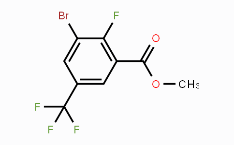 MC449408 | 537658-03-0 | Methyl 3-bromo-2-fluoro-5-(trifluoromethyl)benzoate