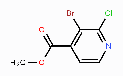 MC449415 | 1214385-62-2 | Methyl 3-bromo-2-chloropyridine-4-carboxylate