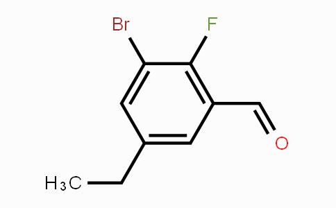 MC449452 | 891844-09-0 | 3-Bromo-5-ethyl-2-fluorobenzaldehyde