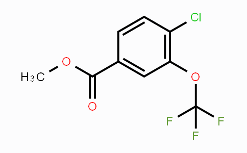 MC449456 | 1261444-00-1 | Methyl 4-chloro-3-(trifluoromethoxy)benzoate