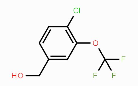 886500-89-6 | 4-Chloro-3-(trifluoromethoxy)benzyl alcohol