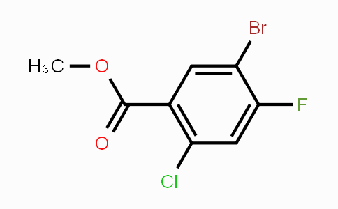 1502717-31-8 | Methyl 5-bromo-2-chloro-4-fluorobenzoate