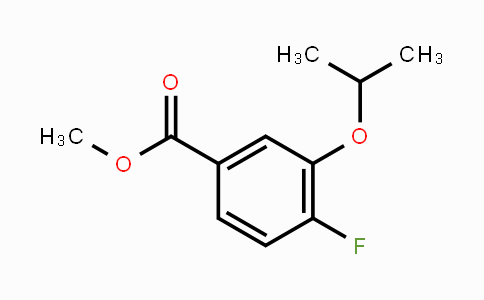 MC449499 | 869990-48-7 | 4-Fluoro--3-isopropoxybenzoic acid methyl ester