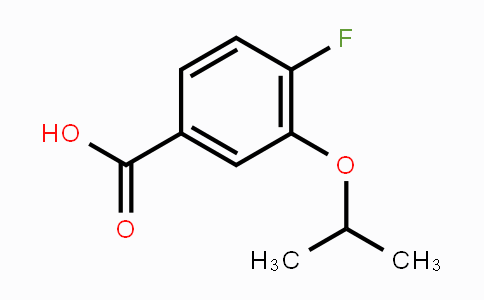 869990-49-8 | 4-Fluoro--3-isopropoxybenzoic acid