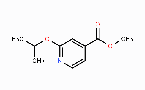 262296-04-8 | Methyl 2-(propan-2-yloxy)pyridine-4-carboxylate