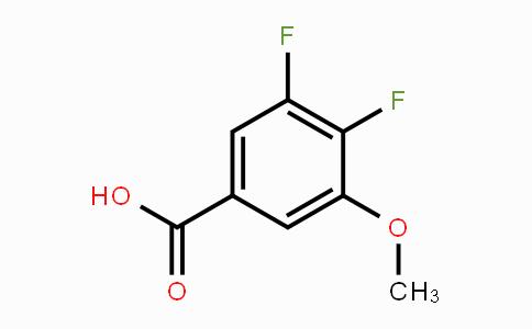 887584-98-7 | 3,4-Difluoro-5-methoxybenzoic acid