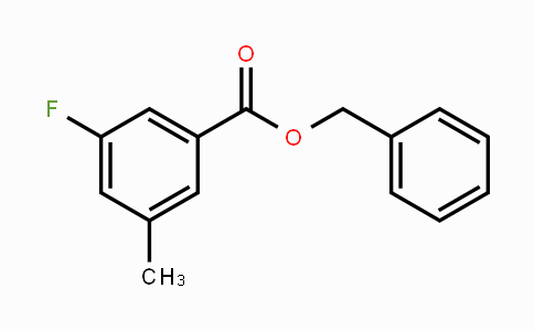2070896-26-1 | Benzyl 3-fluoro-5-methylbenzoate