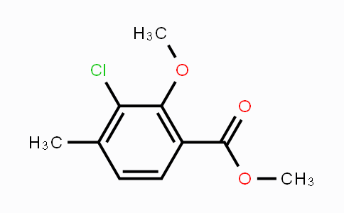 MC449592 | 1936018-29-9 | Methyl 3-chloro-2-methoxy-4-methylbenzoate