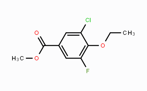 MC449674 | 2056110-47-3 | Methyl 5-chloro-4-ethoxy-3-fluorobenzoate