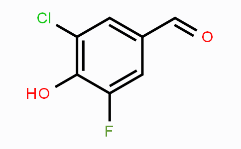870704-13-5 | 3-Chloro-5-fluoro-4-hydroxybenzaldehyde