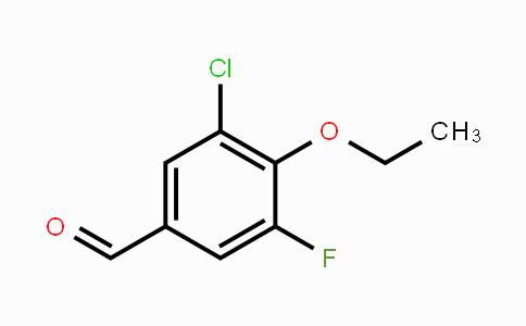 MC449678 | 883521-79-7 | 3-Chloro-4-ethoxy-5-fluorobenzaldehyde