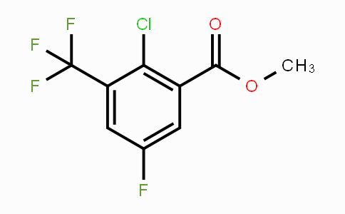 MC449755 | 1805955-89-8 | Methyl 2-chloro-5-fluoro-3-(trifluoromethyl)benzoate